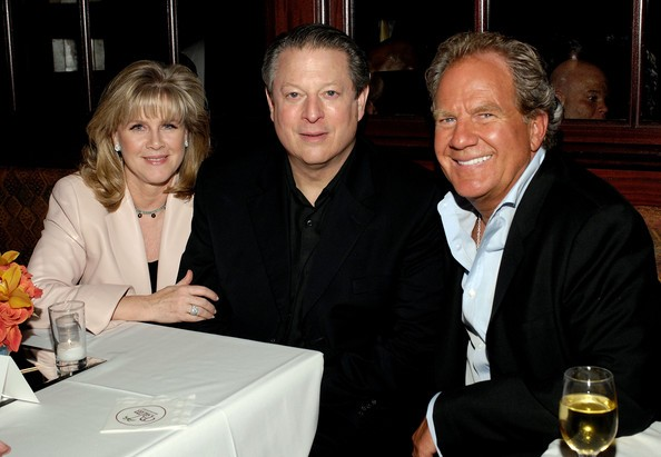 Al Gore and Tipper Gore with Mel Lewinter