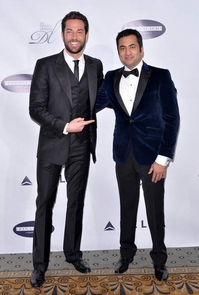 Zachary Levi with Kal Penn