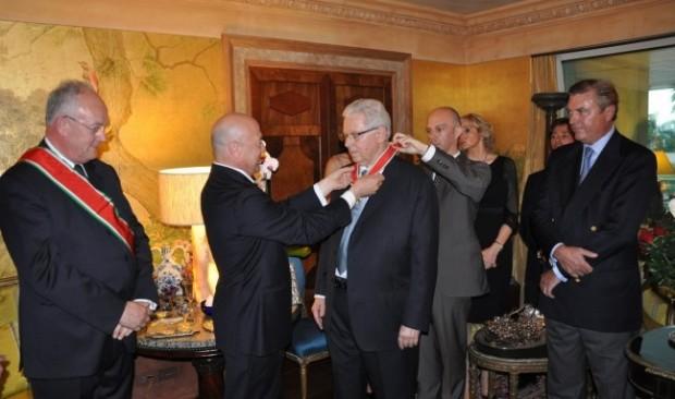 Stefano Pessina Awarded