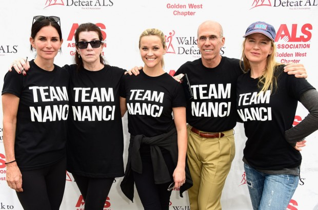 Reese Witherspoon at ALS Charity Walk with Hollywood Celebrities