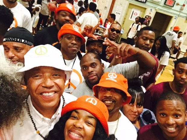 Russell Simmons at Keep the Peace 2015 initiative in  New York
