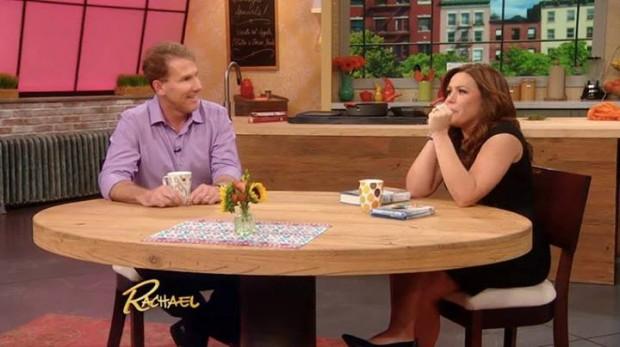 Nicholas Sparks on the Rachel Ray Show