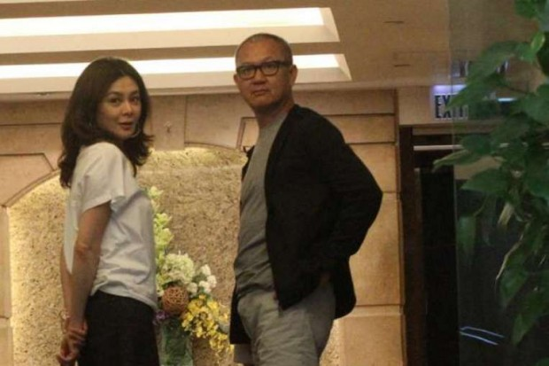 Pierre Chen with Hong Kong actress Rosamund Kwan