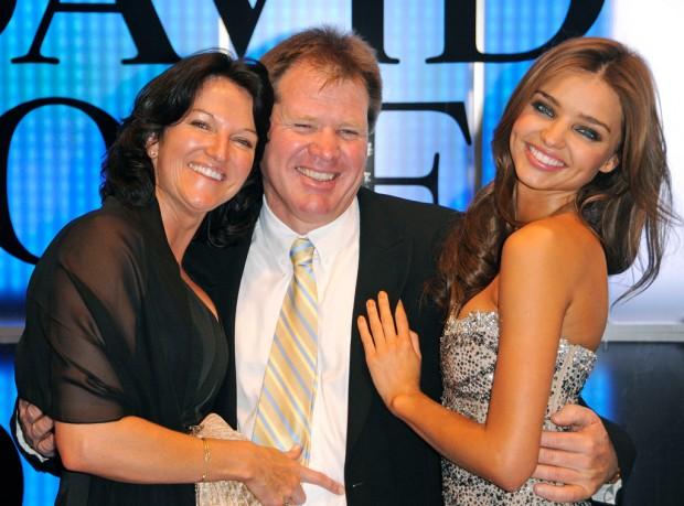 Miranda kerr with her Family