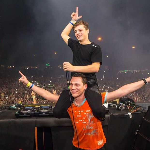Tiesto and Martin Garrix