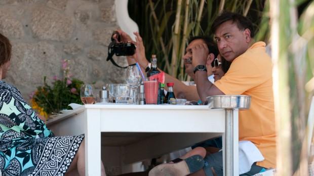 Mittal in Mykonos Tour