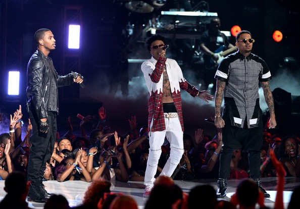 August Alsina Performing at 2014 BET Awards