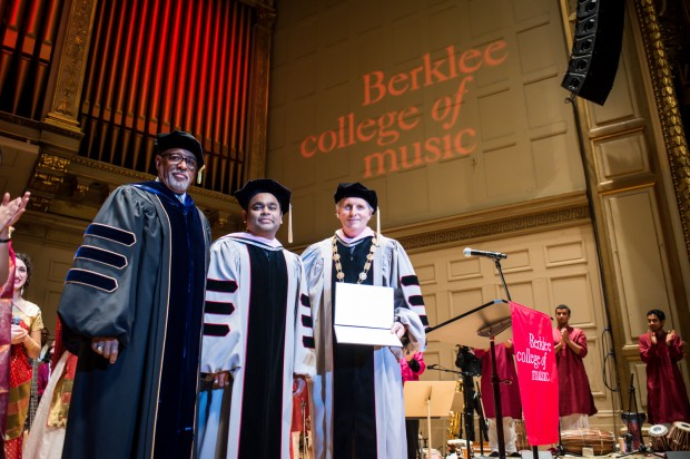Rahman at Berklee College of Music