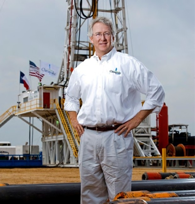 Aubrey McClendon At Chesapeake Energy Corp
