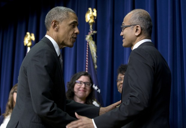 Obama Honored Satya Nadella with Champions of Change