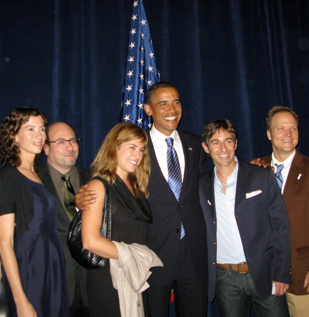 Mark Pincus With Obama