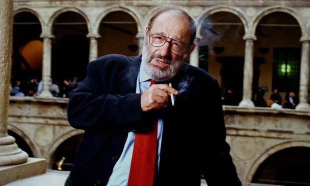Umberto Eco at Bologna University
