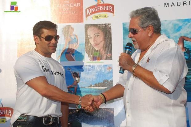 Vijay Mallya With Salman khan