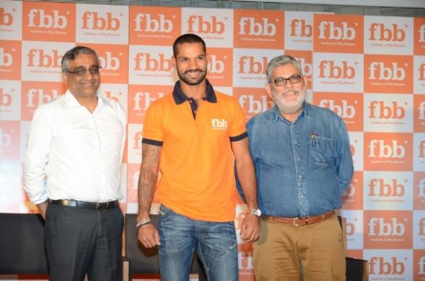 Shikhar Dhawan Endorses Big Bazar