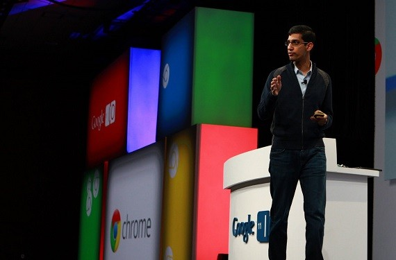 Sundar Pichai as Android Cheif