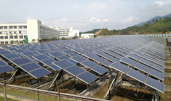 BYD Solar Farms Generating Energy