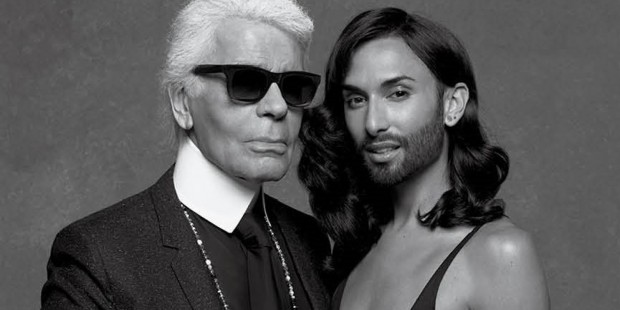 Conchita Wurst Shot By Karl Lagerfeld For New Issue Of CR Fashion Book
