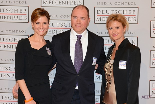 Judith Dommermuth with Ralph Dommermuth and Christina Krause