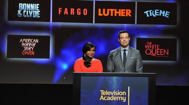 At The 66th Primetime Emmy Awards nominations by Mindy Kaling and Carson Daly