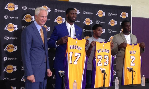 Roy Hibbert During Trade to the Lakers