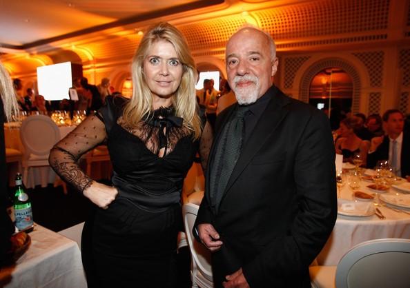Paulo Coelho with Caroline Dendler