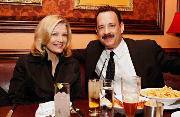 Tom Hanks with Diane Sawyer