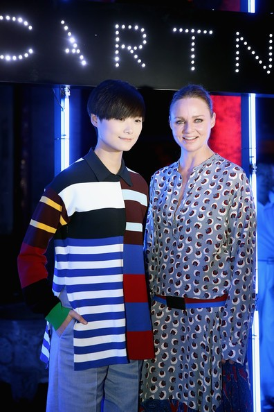 Stella McCartney with Chris Lee