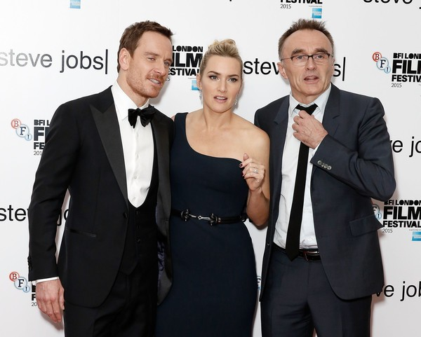 Kate Winslet, Danny Boyle with Michael Fassbender
