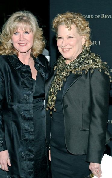 Bette Midler with Tipper Gore