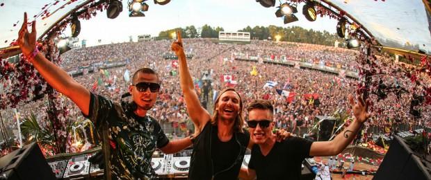 Afrojack, David Guetta & Nicky Romero