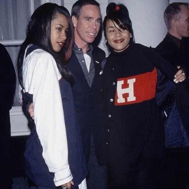 Kidada Jones With Aaliyah
