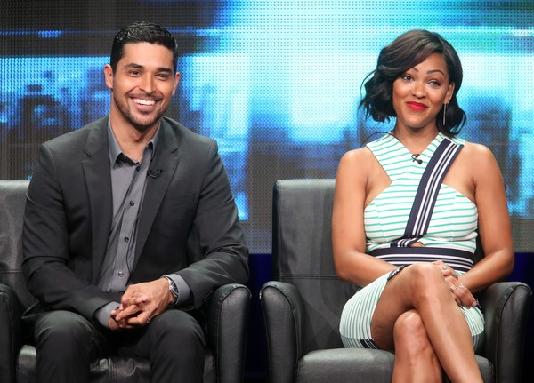 Wilmer Valderrama with Meagan Good