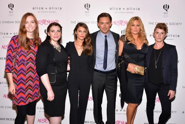 Keri Russell, Jennifer Coolidge, Stephenie Meyer, Jerusha Hess, JJ Feild with Shannon Hale