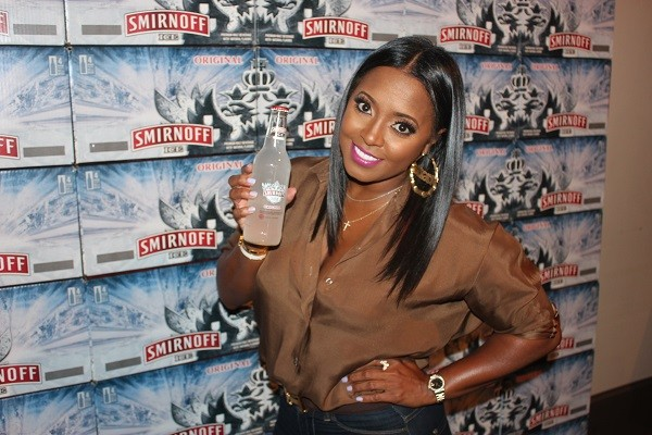 Keshia Knight Puliam photo from Smirnoff's Show