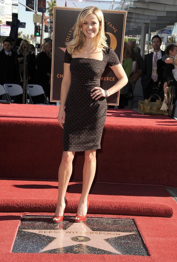 Reese Witherspoon honored with Hollywood Walk of Fame in 2010
