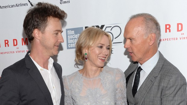 Naomi Watts with Michael Keaton