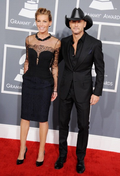 Tim McGraw at Grammy Awards
