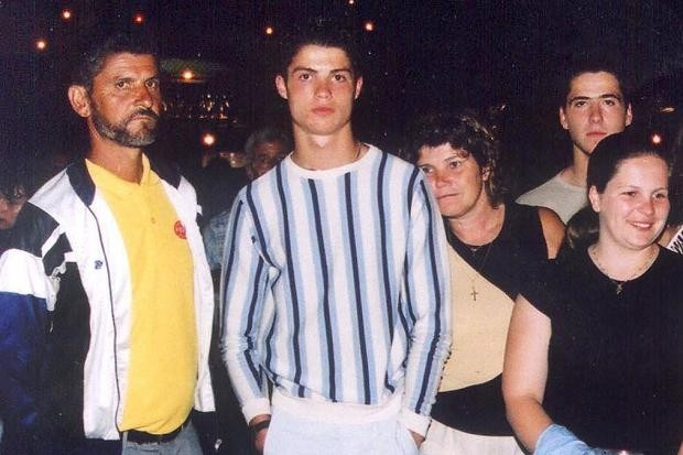 Young Ronaldo and His Friends