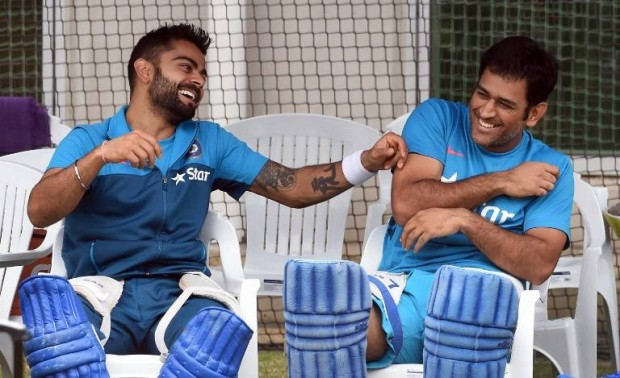 MSD Having Fun with Kohli in Net Session
