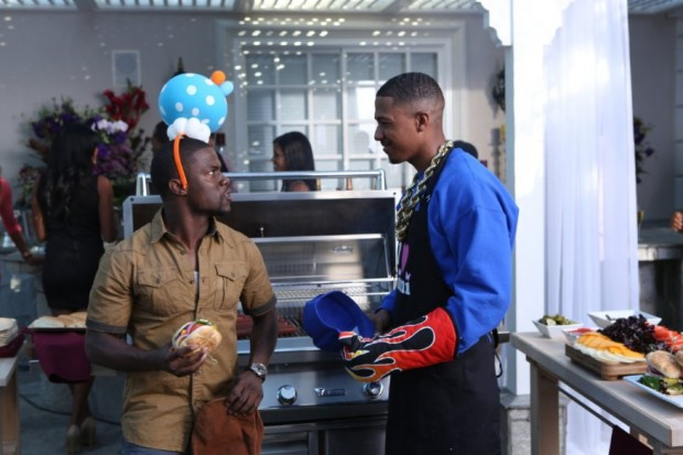 Nick Cannon And Kevin Hart In Real Husbands Of Hollywood