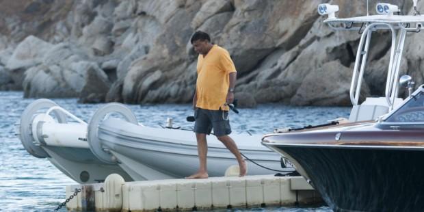 Mittal Enjoying His Tour in Mykonos