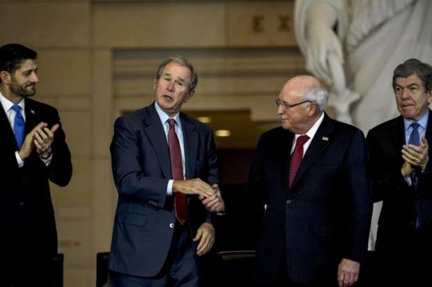 Paul Rayn With Bush