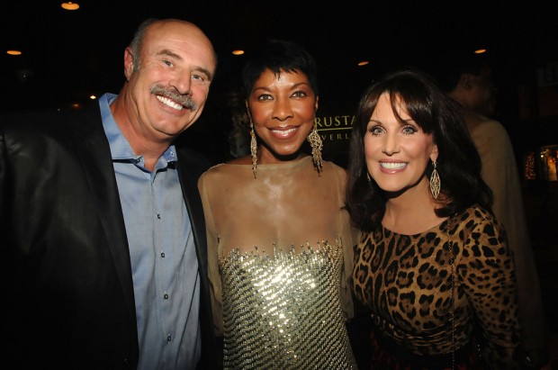 Robin Mcgraw, Phil McGraw, Natalie Cole's