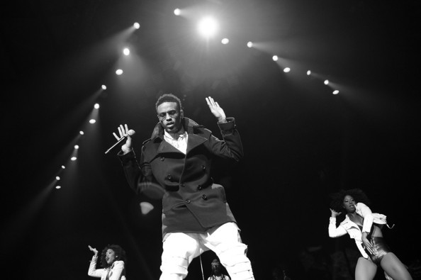 August Alsina Performing in  Concert At Madison Square Garden