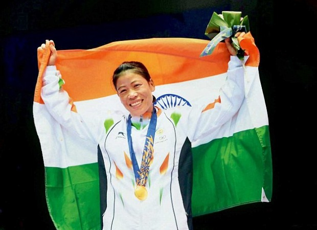 Mary Kom at Asian Games