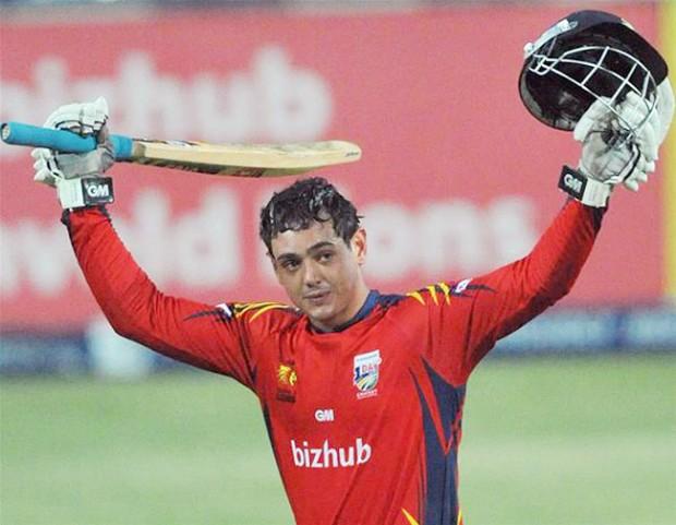 Quinton de Kock At IPL 2013