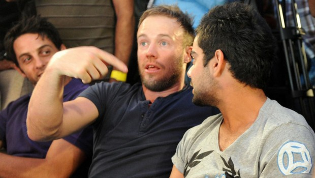 AB Devilliers with Virat Kohli
