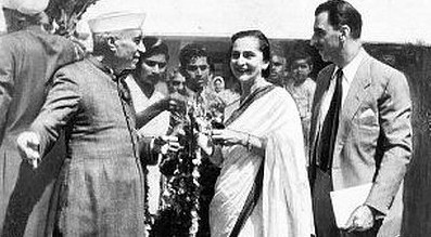 J.R.D. Tata at With Jawaharlal Nehru