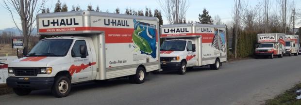 U-Haul Company Trucks