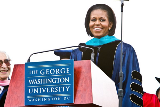Michelle Obama at George Washington University